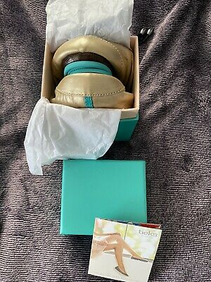 $ CDN373.47 • Buy Limited Edition Tieks Metallic Champagne Size 9 **SOLD OUT** Brand New In Box