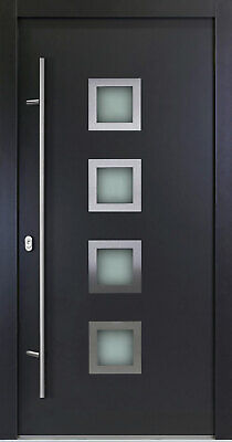 Entry Door ALU-Safeline Model AC03 - Anthracite/White - HQ Product. • 1,087.15£