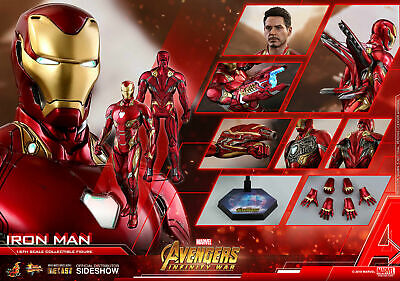 $ CDN715.49 • Buy Hot Toys MMS473 Iron Man Mark 50  Avengers Infinity War Unopened 1/6 In Stock