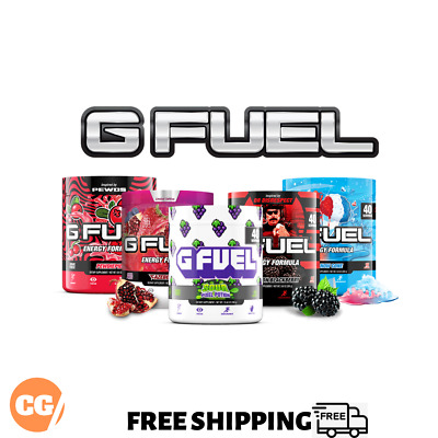 AU64.95 • Buy GAMMA LABS G FUEL Tub 40 Serves FREE SHIPPING Loads Of Flavours | GFUEL ENERGY