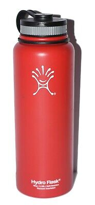 $27.88 • Buy RED 40oz Wide Mouth Black Hydro Flask FREE SHIPPING! Pre-owned! SKSKSK And I Oop