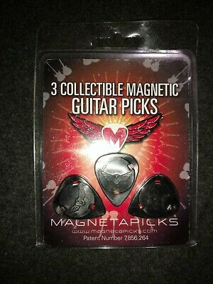 $ CDN18.14 • Buy 3 Collectible Guitar Picks Magnetapicks NIP