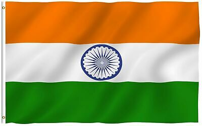 $11.99 • Buy INDIA FLAG 3x5 INDIAN COUNTRY FLAGS NEW BANNER Nylon Polyester