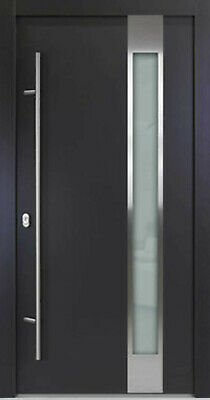 Entry Door ALU-Safeline Model AC04 - Anthracite/White - HQ Product. • 1,086.30£