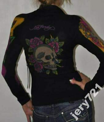 ED HARDY By CHRISTIAN AUDIGIER Women's Hoodie Sweater  • 49£