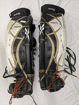 $170 • Buy Reebok 9000 35 +2 Hockey Goalie Leg Pads