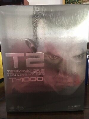 AU803 • Buy Hot Toys MMS 129 Terminator 2 Judgment Day T1000 Robert Patrick Figure NEW