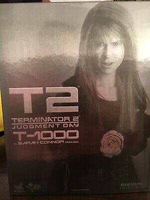 AU723 • Buy Hot Toys 1/6 Terminator 2 Mms125 T-1000 In Sarah Connor Disguise Action Figure