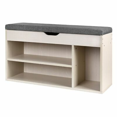 AU88.16 • Buy NEW Resort Living Cylan Shoe Cabinet, Natural/Grey, Small