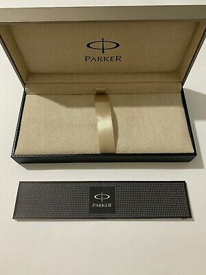 £16.99 • Buy Parker Pen Box & Guarantee Booklet-excellent Condition-box & Booklet Only.