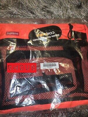 $ CDN88.53 • Buy Supreme SS15 Mesh Organizer Bag Set Orange OS DS NIB