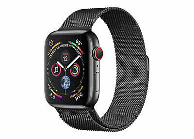 $ CDN599.99 • Buy Apple Watch Series 4, 44mm, GPS + Cellular, Space Black Stainless Steel Case