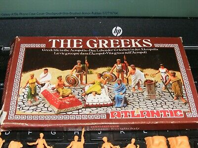 $14.50 • Buy Vintage Atlantic  The Greeks  Figures  #1804 Ho Scale  New   Free Shipping
