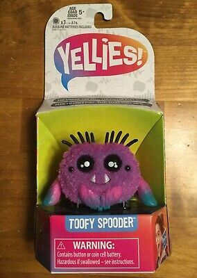 $10.95 • Buy YELLIES Toofy Spooder Spider Voice Activated Fun Kids Toys Ages 5+