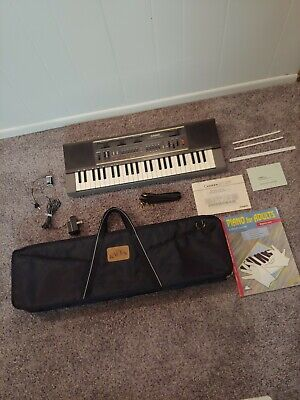 $99.95 • Buy Vintage CASIO Casiotone MT-210 Electronic Keyboard Musical Instrument With Case