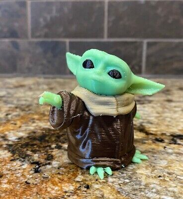 $10.88 • Buy Baby Yoda Mandalorian  Figure Statue Figurine Cake Topper The Child Party