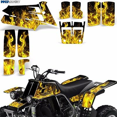 AU132.07 • Buy Decal Graphic Kit Yamaha Banshee 350 ATV Quad Decal Wrap Parts Deco 87-05 ICE