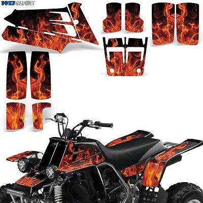 AU132.07 • Buy Decal Graphic Kit Yamaha Banshee 350 ATV Quad Decal Wrap Parts Deco 87-05 ICE O