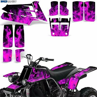 AU132.07 • Buy Decal Graphic Kit Yamaha Banshee 350 ATV Quad Decal Wrap Parts Deco 87-05 ICE P