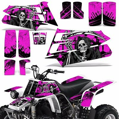 AU132.07 • Buy Decal Graphic Kit Yamaha Banshee 350 ATV Quad Decal Wrap Parts Deco 87-05 REAP P