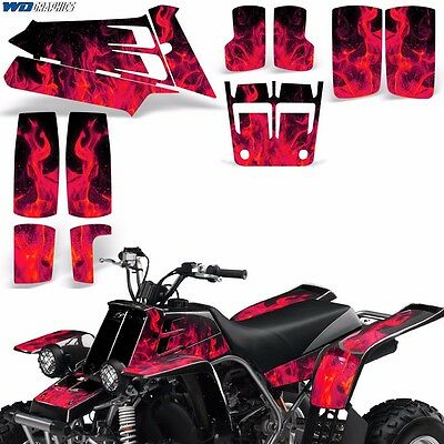 AU132.07 • Buy Decal Graphic Kit Yamaha Banshee 350 ATV Quad Decal Wrap Parts Deco 87-05 ICE R