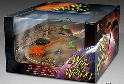 PEGASUS Pre-Built Diorama War Of The Worlds 1953 War Machine 1/144 Scale 18WPH07 • 29.15£