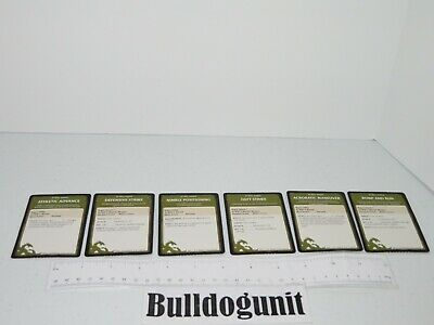 AU8.61 • Buy 2011 Dungeons & Dragons Starter Set Board Game Lot 6 At Will Rogue Card Part Onl