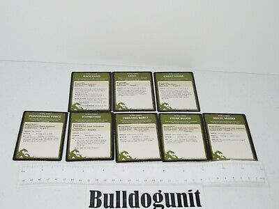 AU8.62 • Buy 2011 Dungeons & Dragons Starter Set Board Game Lot 8 At Will Wizard Card Part