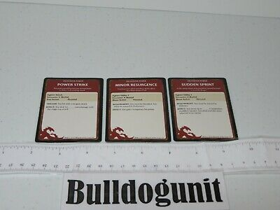 AU8.62 • Buy 2011 Dungeons & Dragons Starter Set Game Lot 3 Encounter Power Fighter Card Only