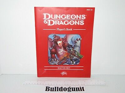 AU9.59 • Buy 2011 Dungeons & Dragons Starter Set Board Game Player's Book Part Only