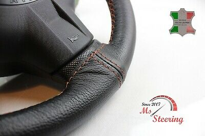 $31.71 • Buy For Mercury Grand Marquis 96-04 Black Leather Steering Wheel Cover, Cooper 2 Sti