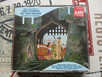 Gilbert & Sullivan The Yeomen Of The Guard Sir Malcolm Sargent 1958 Recording • 10£