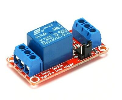 AU17.35 • Buy 5V 1 Channel Relay Module Board With Optocoupler High And Low Level Trigger