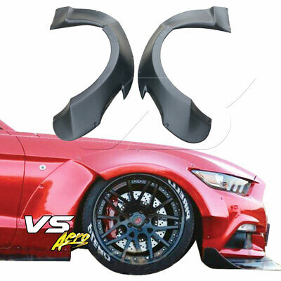 $ CDN468.10 • Buy FRP RBOT Wide Body Fender Flares (front) Fits Ford Mustang 15-20 VSaero