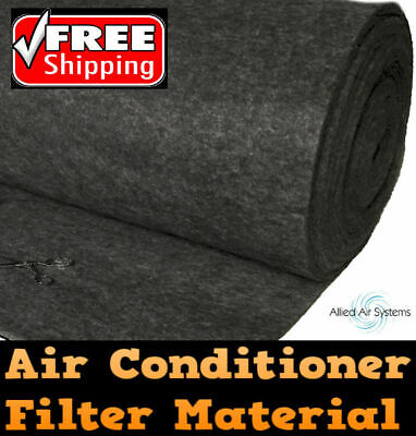 AU89.99 • Buy Air Conditioner Return Air Filter Media Material Aircon 1 Metre X 4 Metres