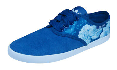 Adidas Originals Adria PS 2Love Womens Trainers / Casual Flower Shoes - Blue • 21.52£