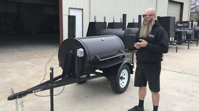 $3250 • Buy 2020 Rotisserie BBQ Smoker Trailer Super Nice - Brand New Barbeque Cooker -CHEAP