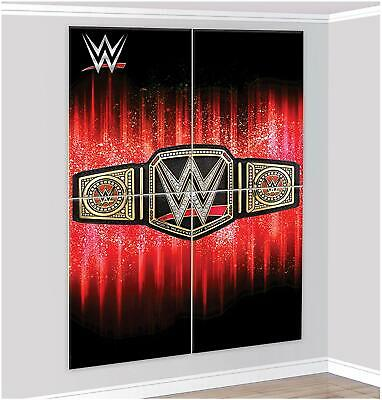 WWE Smash Scene Setter Happy Birthday Wall Decoration Banner Boys Party Supplies • 11.36£