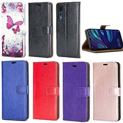 For Huawei P20 Pro P20 Lite Phone Case Leather Flip Shockproof Wallet Book Cover • 3.99£