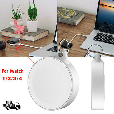 $ CDN4.76 • Buy Portable Magnetic Wireless Charger Keychain For Apple Watch Serie 1/2/3/4 IWatch