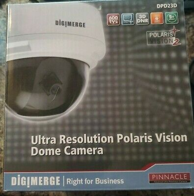 $69.99 • Buy DPD23D DIGIMERGE Ultra Resolution Polaris Vision Dome Camera