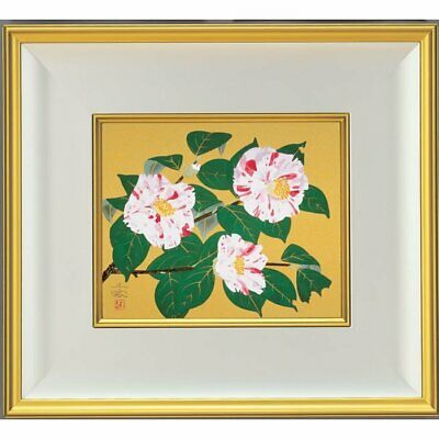 $ CDN1855.91 • Buy Chinami Nakajima Winter Reproducition Silkscreen Flower Framed Limited 300 Rare