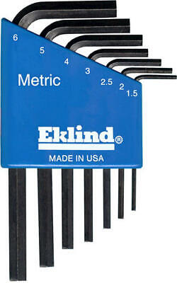 $ CDN10.10 • Buy Eklind Metric L-Wrench Short Hex Key Set With Holder - 7 Piece