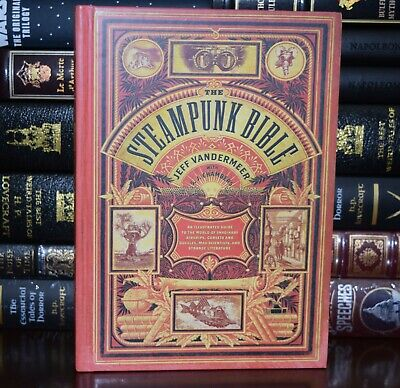 New Steampunk Bible Illustrated Guide Imaginary Airships Scientists Hardcover • 21.02£