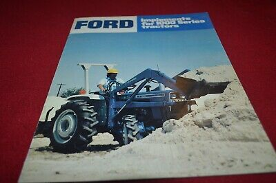 AU26.97 • Buy Ford Tractor 1000 Series Tractor Implements Dealers Brochure AMIL15