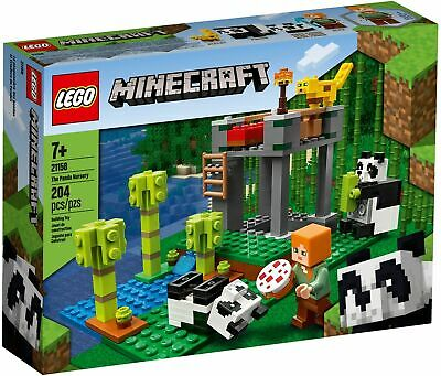AU37.50 • Buy LEGO Minecraft The Panda Nursery 21158