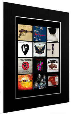 Mounted / Framed Print Foo Fighters  Discography - Different Sizes Poster Art  • 13.11£