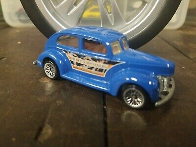 $ CDN1.31 • Buy Hot Wheels #27 Circus On Wheels Series Fat Fendered '40 Blue 2000