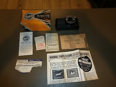 $ CDN63.33 • Buy Vintage FALCON MINETTE Camera In Original Box W/ Instruction Sheet Film RARE