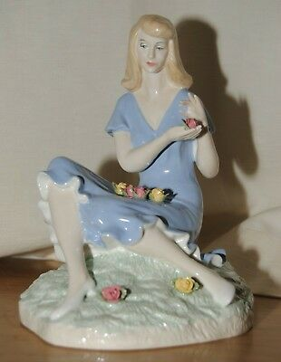 $ CDN41.11 • Buy Royal Doulton Reflections Summer Rose Figurine Seconds